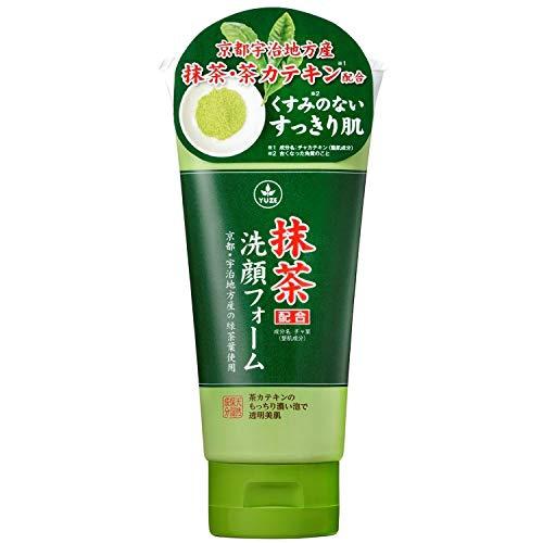 ユゼ化粧品 抹茶配合洗顔フォーム N