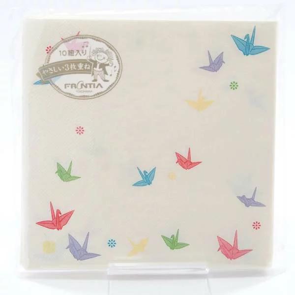 FRONTIA(フロンティア) ペーパーナプキン 折り鶴|pnk-047の商品画像