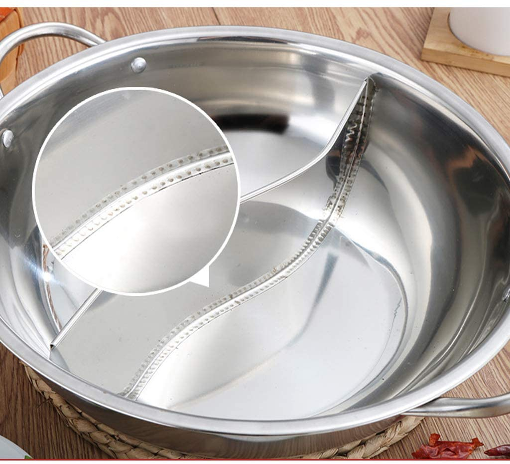 amleso(アムレソ)両手鍋 仕切り 二食鍋 28cmの商品画像2