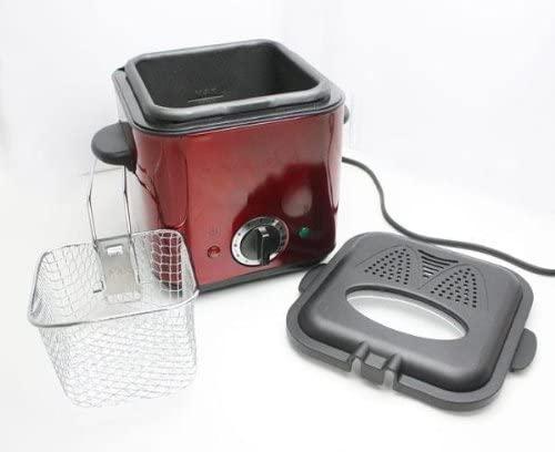三ッ屋電機(ミツヤデンキ) 家庭用フライヤー MAK-900 串揚げ屋台 レッドの商品画像3