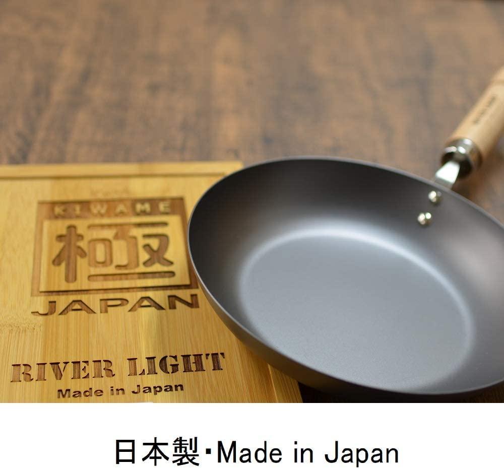 RIVER LIGHT(リバーライト) 極JAPAN IH対応 鉄製フライパンの商品画像6