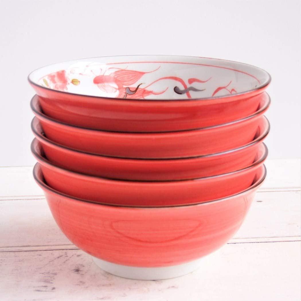 みのる陶器 赤巻ラーメン丼 6.3寸の商品画像4