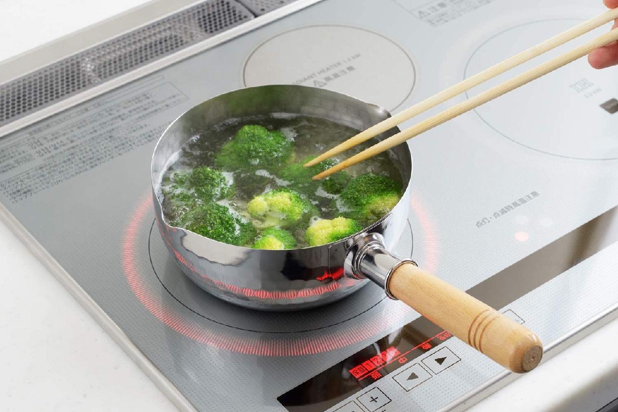 YOSHIKAWA(ヨシカワ) 両口ステンレス雪平鍋の商品画像4