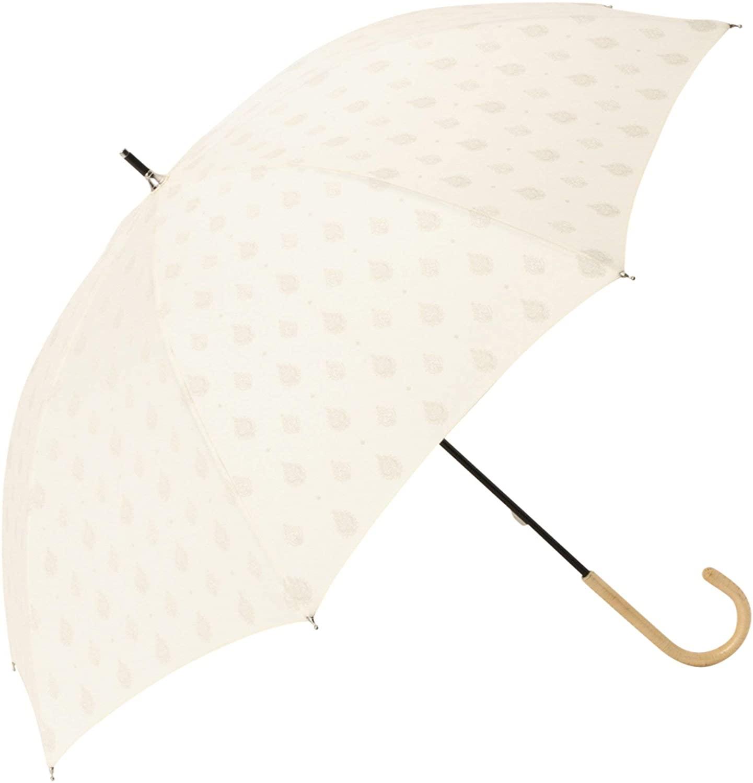Francfranc(フランフラン) テンポ 日傘 ホワイト (晴雨兼用)の商品画像