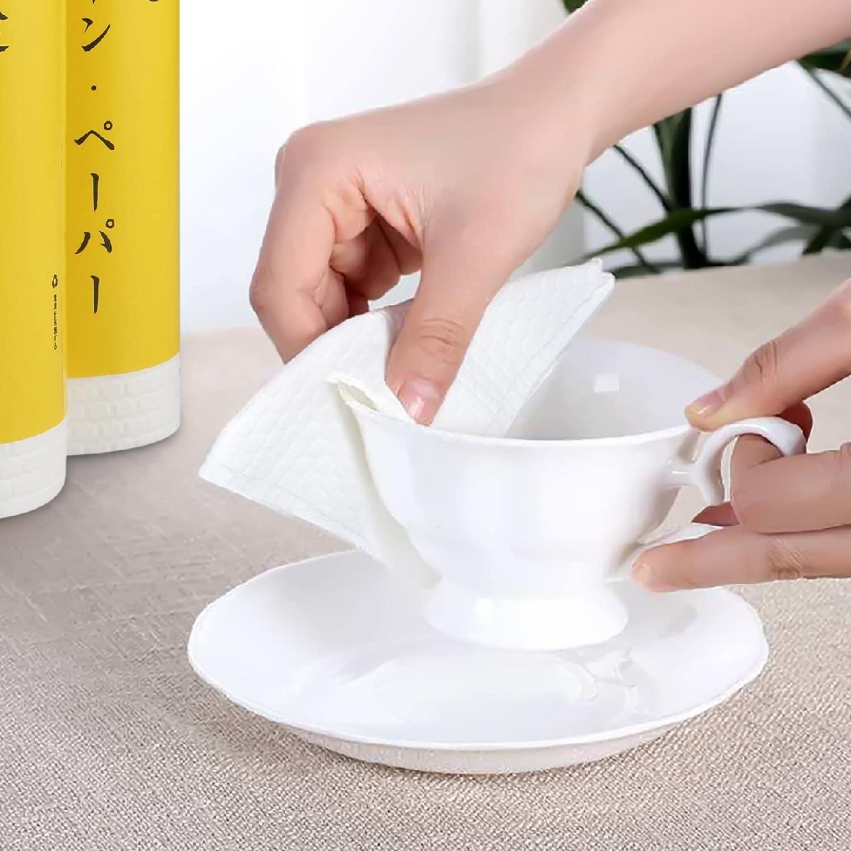 Triclean(トリクリーン) キッチンペーパー キッチンタオル 40カット×3ロールの商品画像5