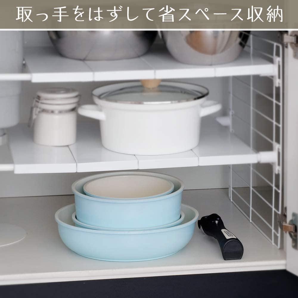 IRIS OHYAMA(アイリスオーヤマ)セラミックカラーパン 6点セットの商品画像8