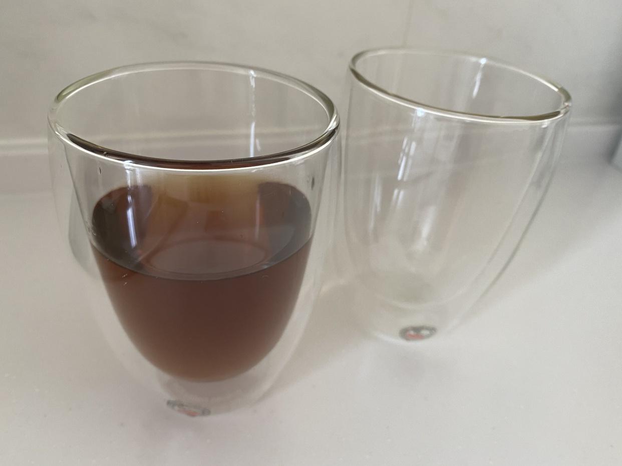 BODUM(ボダム)PAVINA ダブルウォールグラス 350ml 2個セット 4559-10Jを使ったkaori101424さんのクチコミ画像1