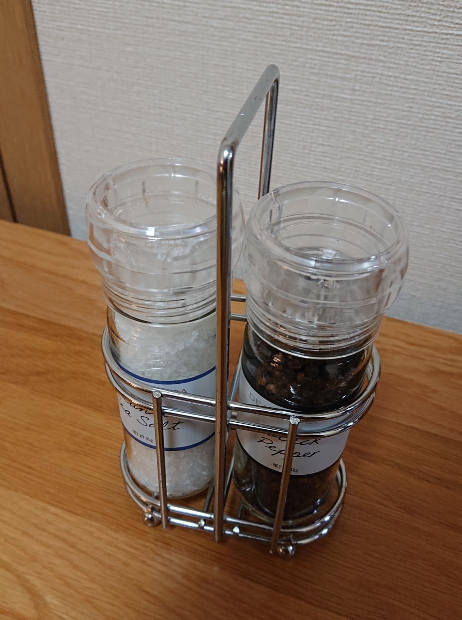 DEAN&DELUCA(ディーンアンドデルーカ)ソルト&ペッパーグラインダーセットを使った鈴木 まさ美さんのクチコミ画像1