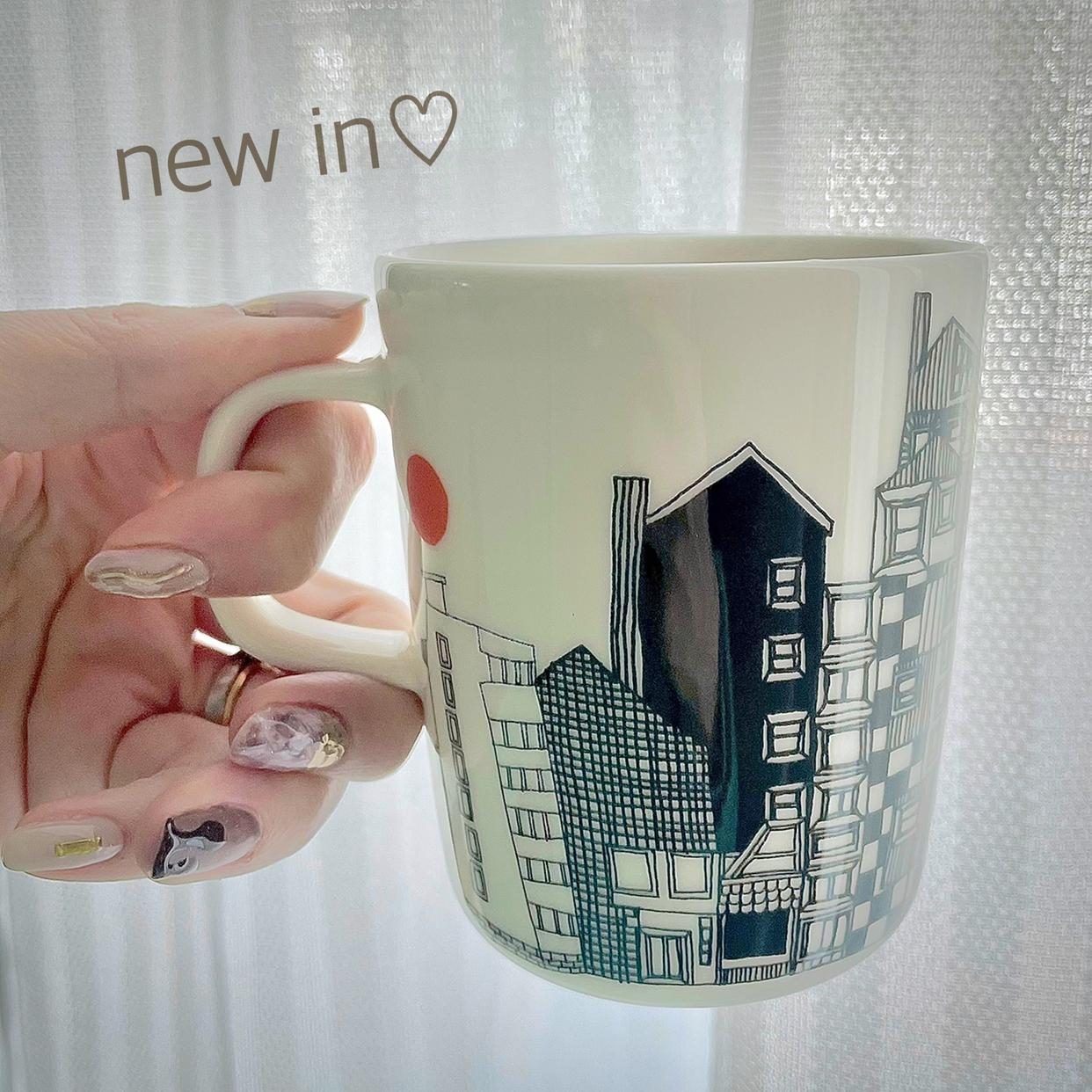 marimekko(マリメッコ)Unikko マグカップを使ったSaki.さんのクチコミ画像1
