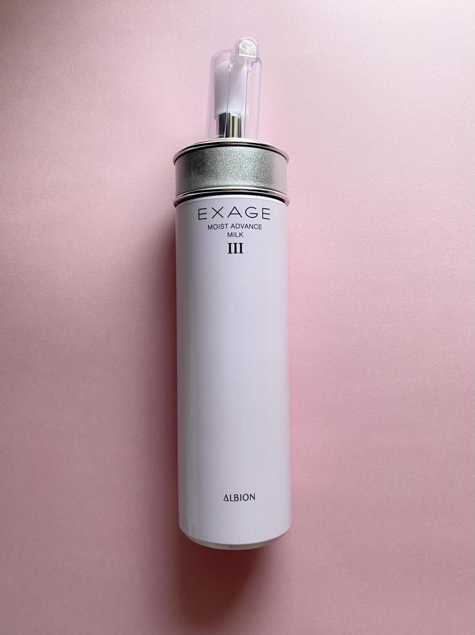 ALBION(アルビオン)エクサージュ モイスト アドバンス ミルク Ⅲを使ったnaorinさんのクチコミ画像1