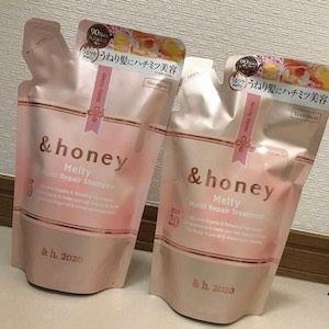 &honey Melty(アンドハニー メルティ)モイストリペアシャンプー1.0を使った chaanaoさんのクチコミ画像