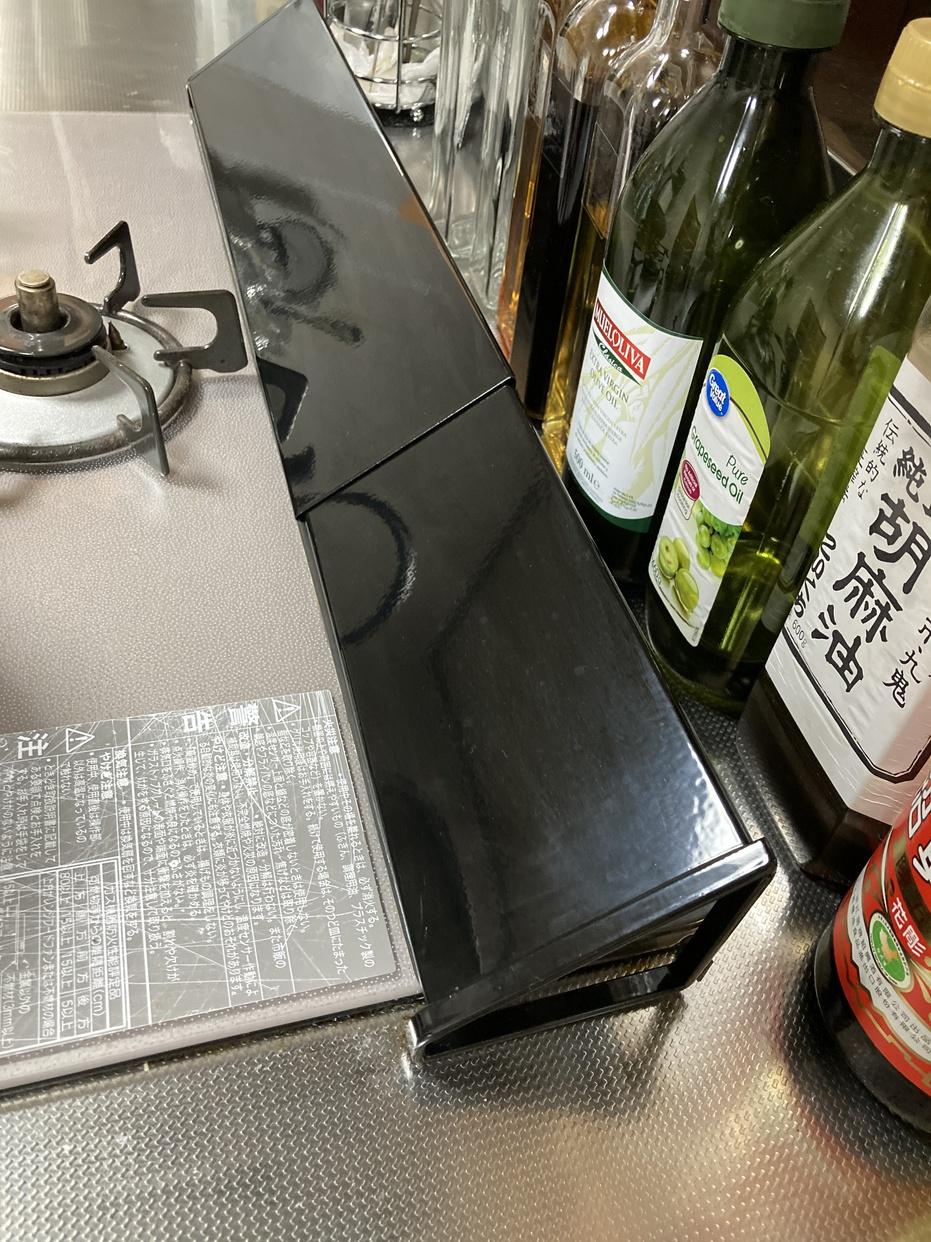 山崎実業(Yamazaki) 棚付き 伸縮排気口カバー タワーの良い点・メリットに関するc_brown1030さんの口コミ画像1