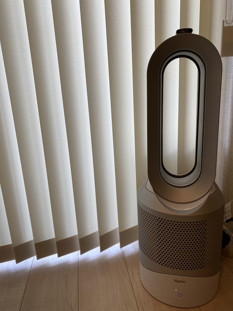Dyson(ダイソン)Dyson Pure Hot + Cool 空気清浄ファンヒーター アイアン HP04を使ったmamiさんのクチコミ画像1