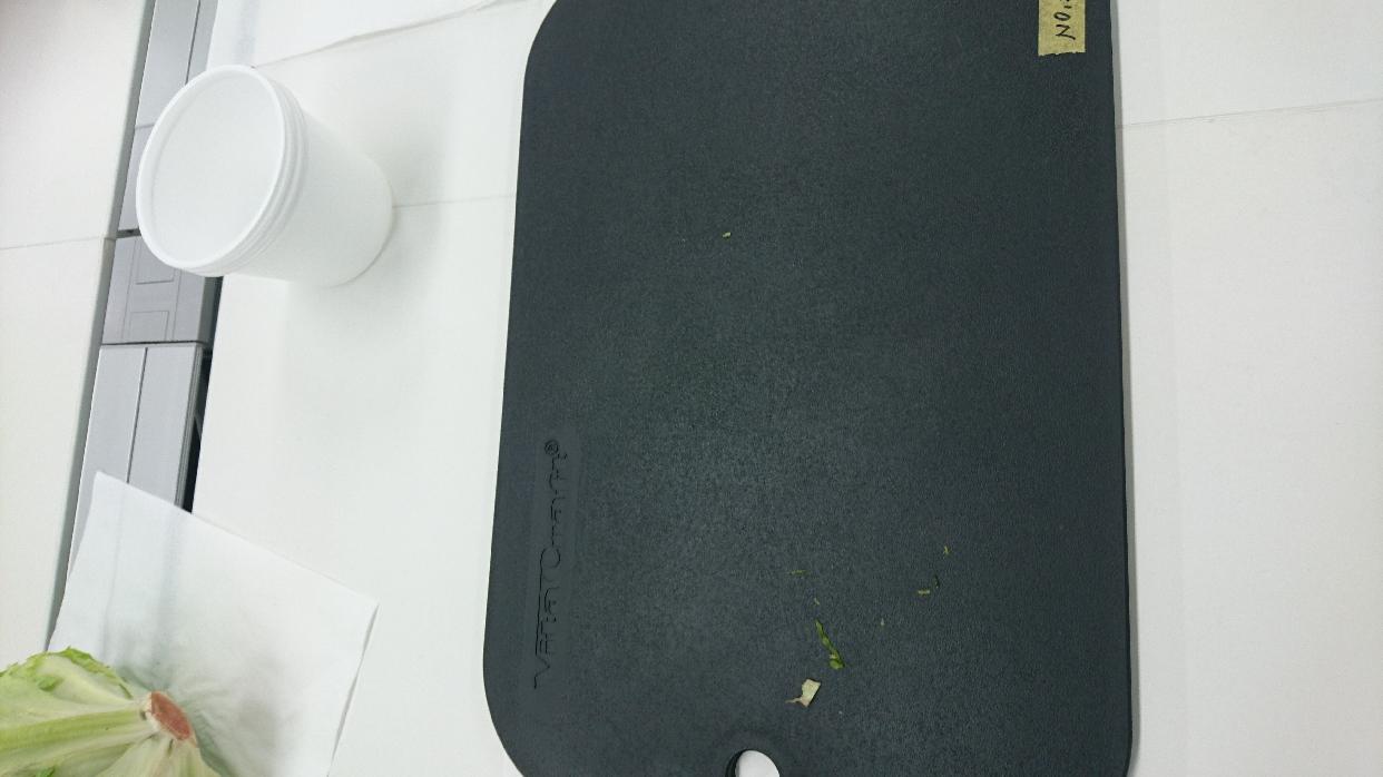 Vita Craft(ビタクラフト)抗菌まな板 ブラック 3401を使った わんちゅくさんの口コミ画像1