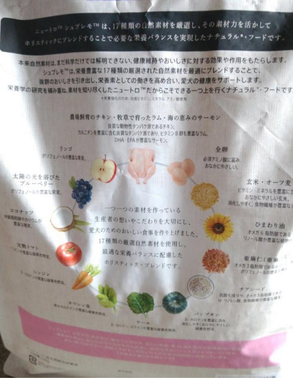 Nutro(ニュートロ) シュプレモを使ったmahinaさんのクチコミ画像