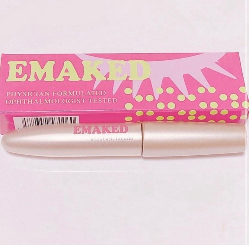水橋保寿堂製薬(みずはしほじゅどうせいやく)EMAKED(エマーキット)を使った             あすめろ(すーちゃん)さんのクチコミ画像