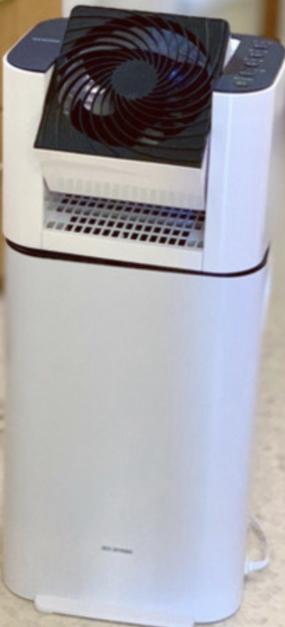 IRIS OHYAMA(アイリスオーヤマ)サーキュレーター衣類乾燥除湿機 IJD-I50を使った田中美帆さんのクチコミ画像1