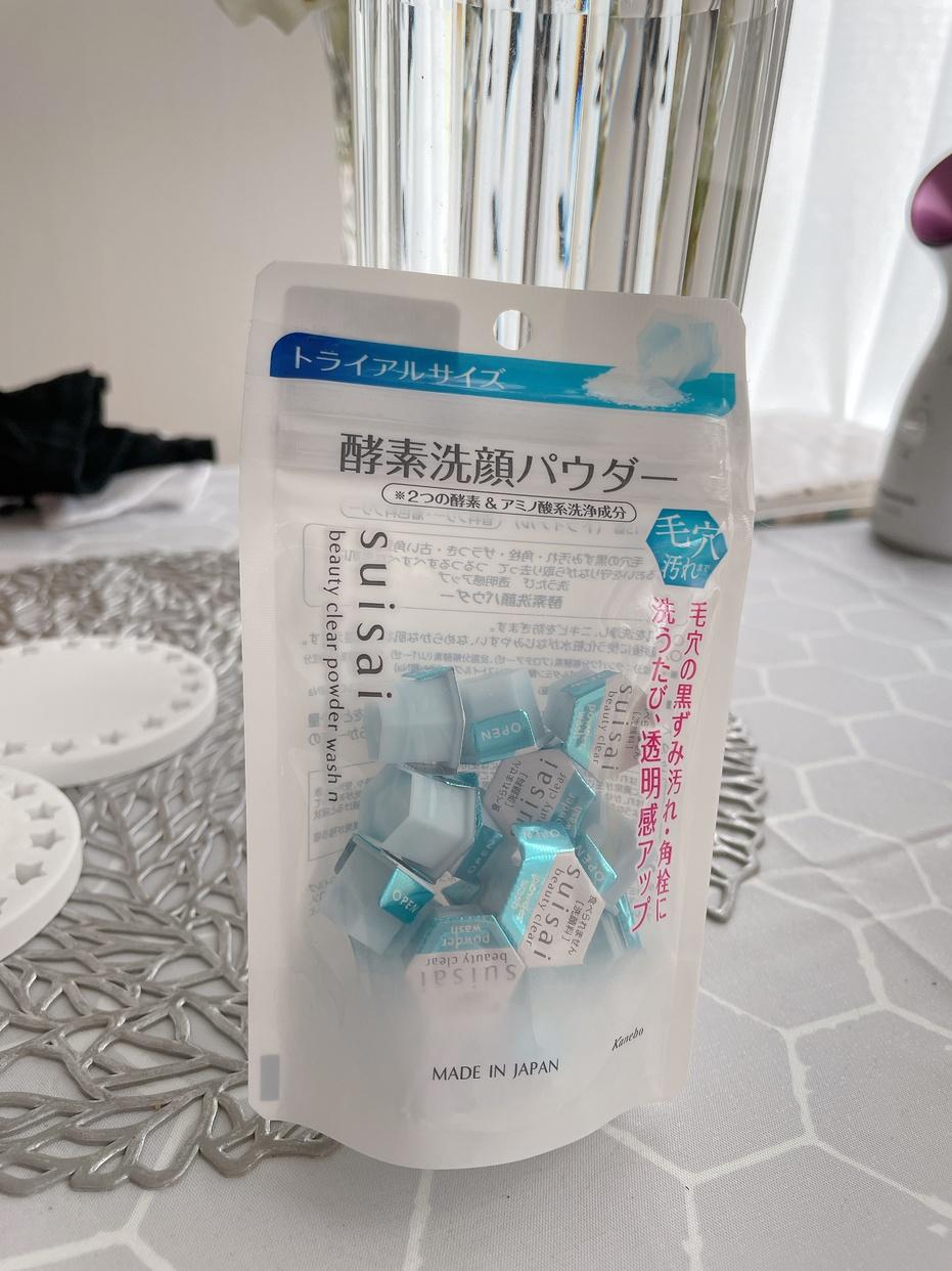 suisai(スイサイ) 洗顔パウダー ビューティクリアパウダーウォッシュを使った宇佐美さんのクチコミ画像1