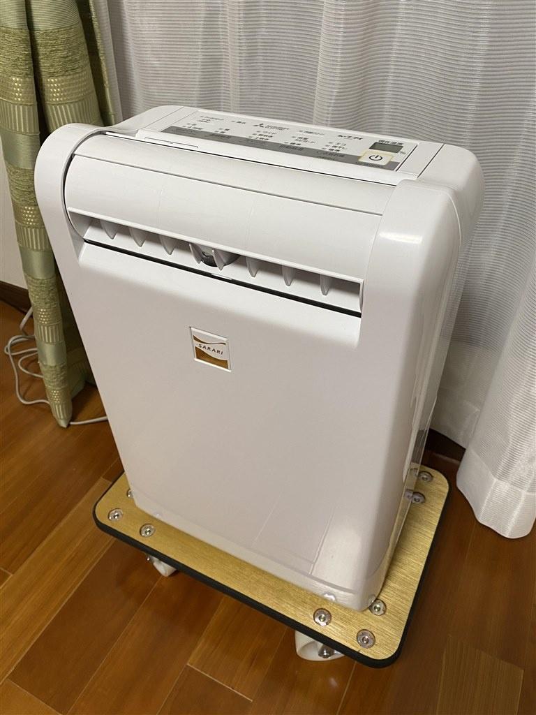 三菱電機(MITSUBISHI ELECTRIC)衣類乾燥除湿機サラリ MJ-M100RXを使った家事・家具・家電大好き(スイーツも大好き)さんのクチコミ画像1