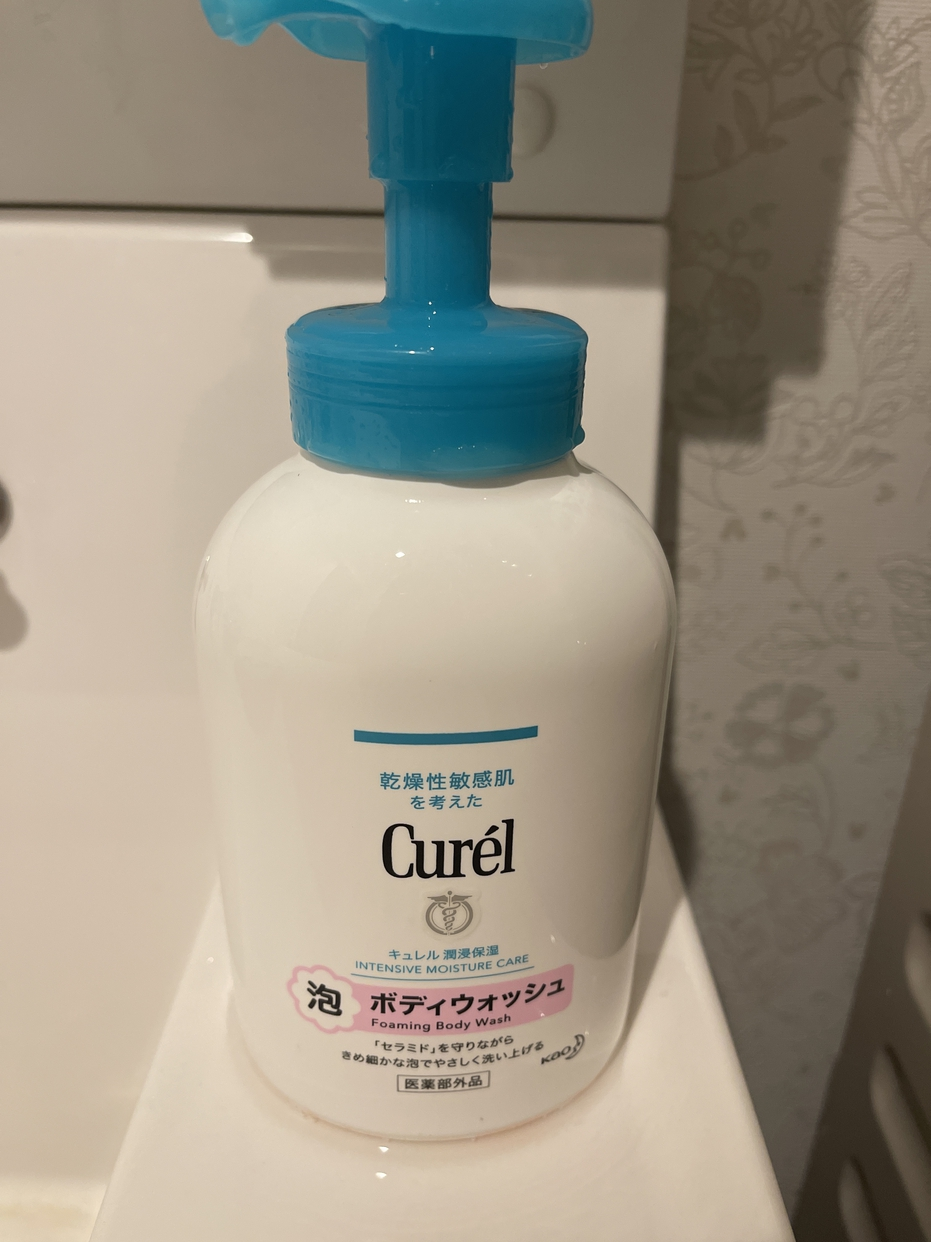 Curél(キュレル)泡ボディウォッシュを使ったMARUKOさんのクチコミ画像1