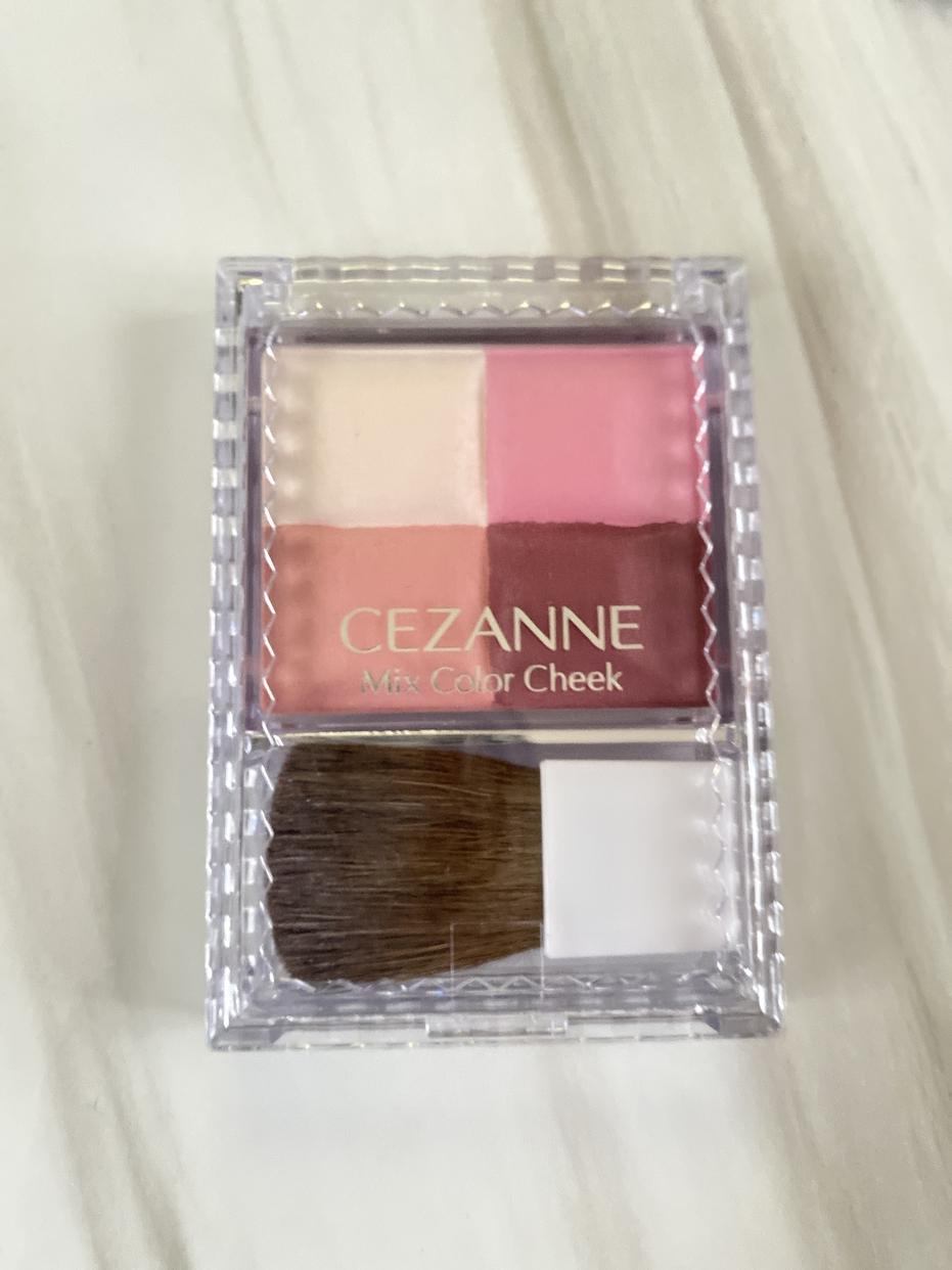 CEZANNE(セザンヌ) ミックスカラーチークを使ったひらりさんのクチコミ画像1