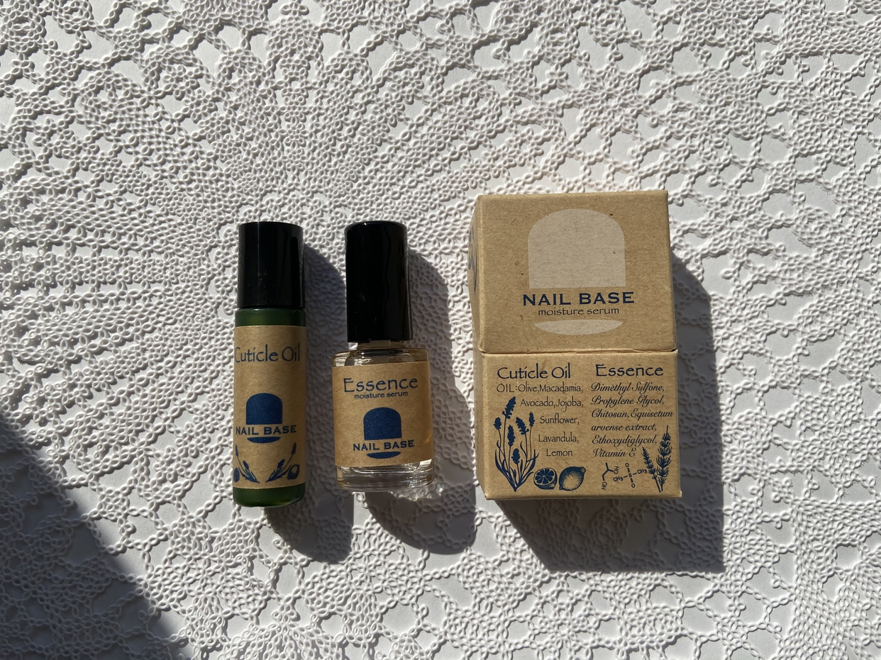 NAIL BASE(ネイルベース)キューティクルオイルと爪の美容液のセットを使ったcandyairiさんのクチコミ画像2