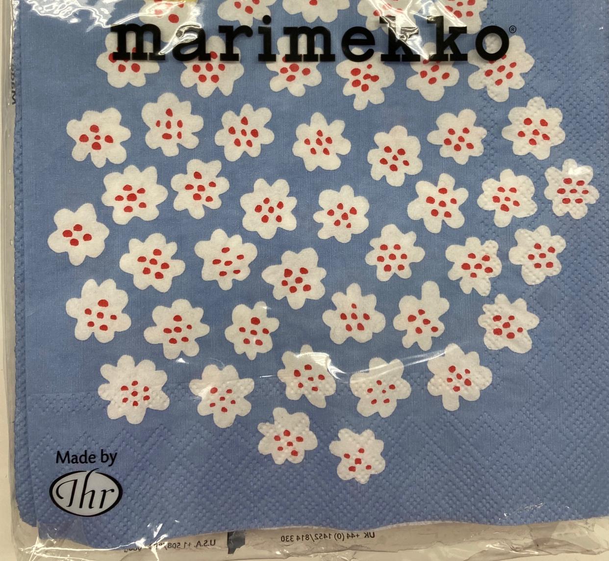 marimekko(マリメッコ)ペーパーナプキン ウニッコを使ったチャンコロさんのクチコミ画像1
