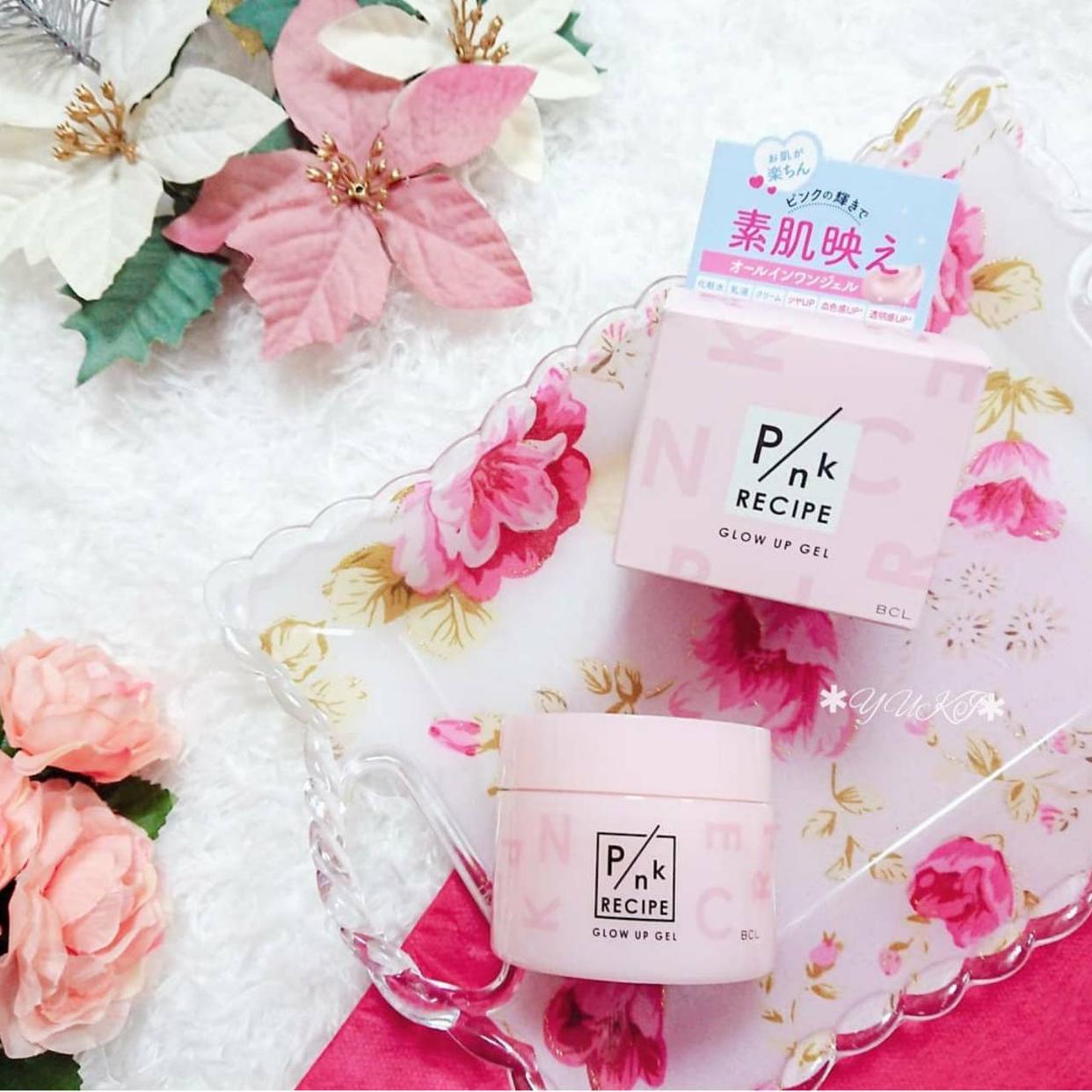 PINK RECIPE(ピンクレシピ)グロウアップジェルを使ったYUKIさんのクチコミ画像