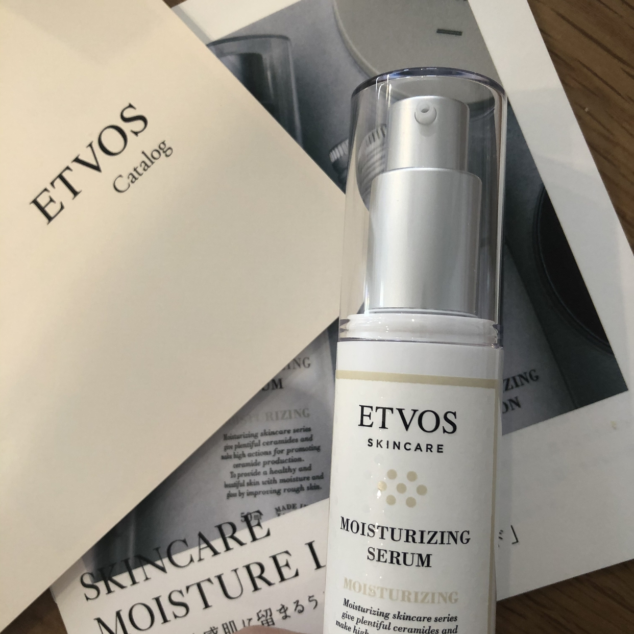 ETVOS(エトヴォス) モイスチャライジングセラムを使ったsesatoさんのクチコミ画像1