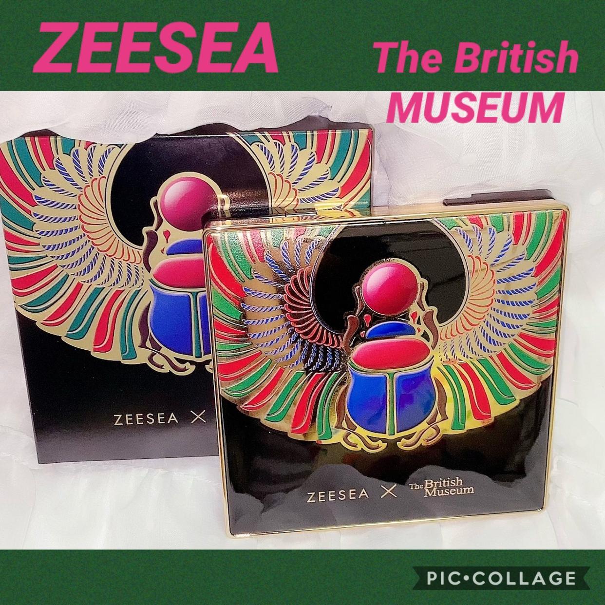 ZEESEA(ズーシー) 大英博物館 16色スクエアアイシャドウパレットを使った珈琲豆♡さんのクチコミ画像