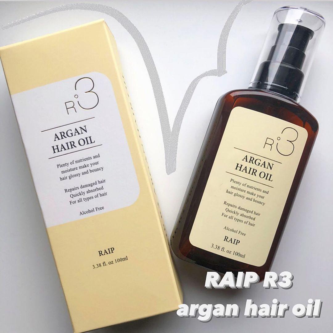 RAIP(ライプ) R3 ARGAN HAIR OILを使ったなっぴーさんのクチコミ画像