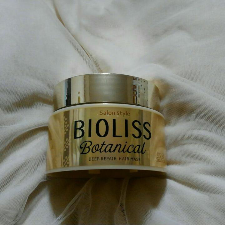 BIOLISS(ビオリス)ボタニカル ディープリペア ヘアマスクを使ったバドママ★さんのクチコミ画像1