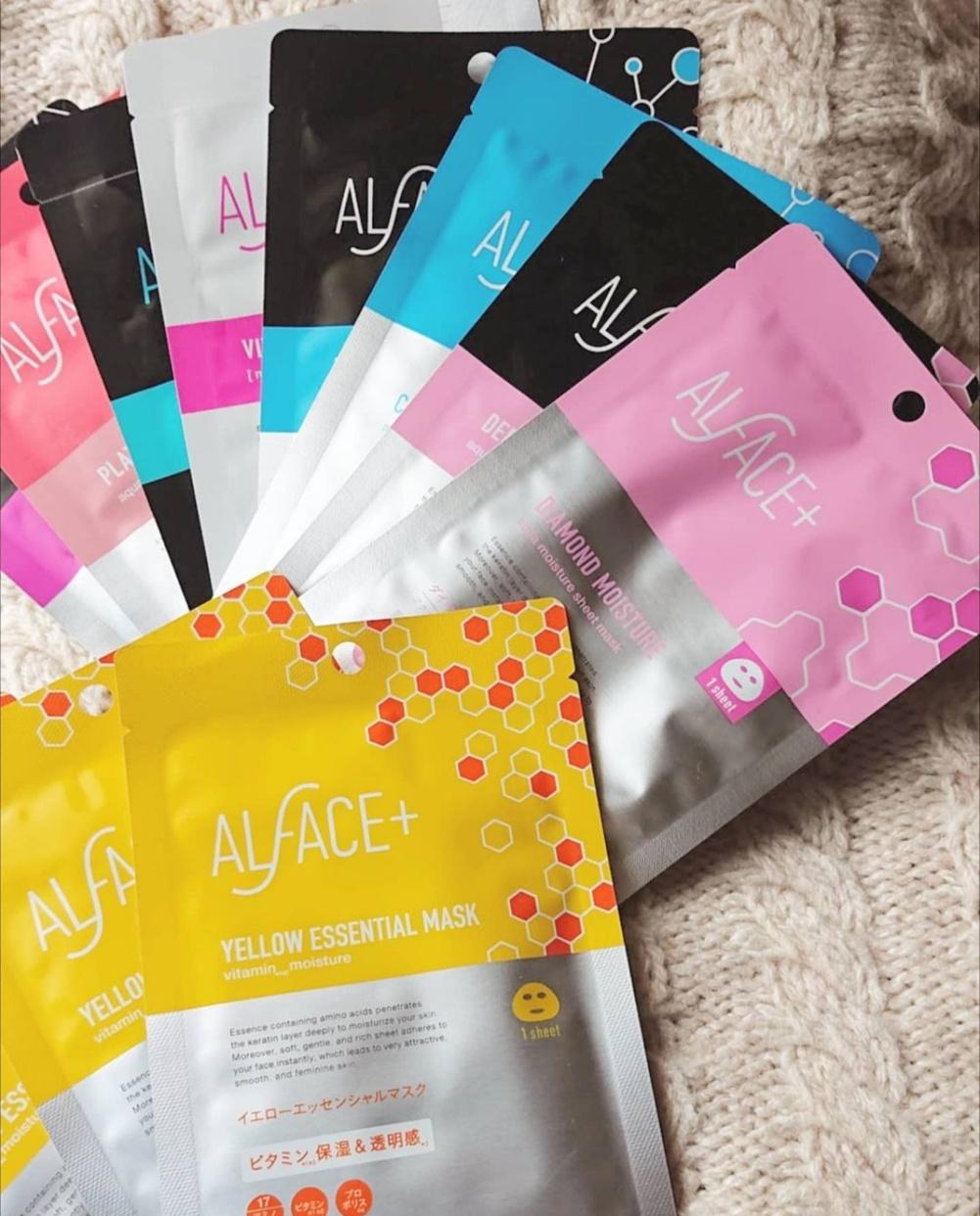 ALFACE+(オルフェス) イエローエッセンシャルマスクを使ったFU-RINさんのクチコミ画像2