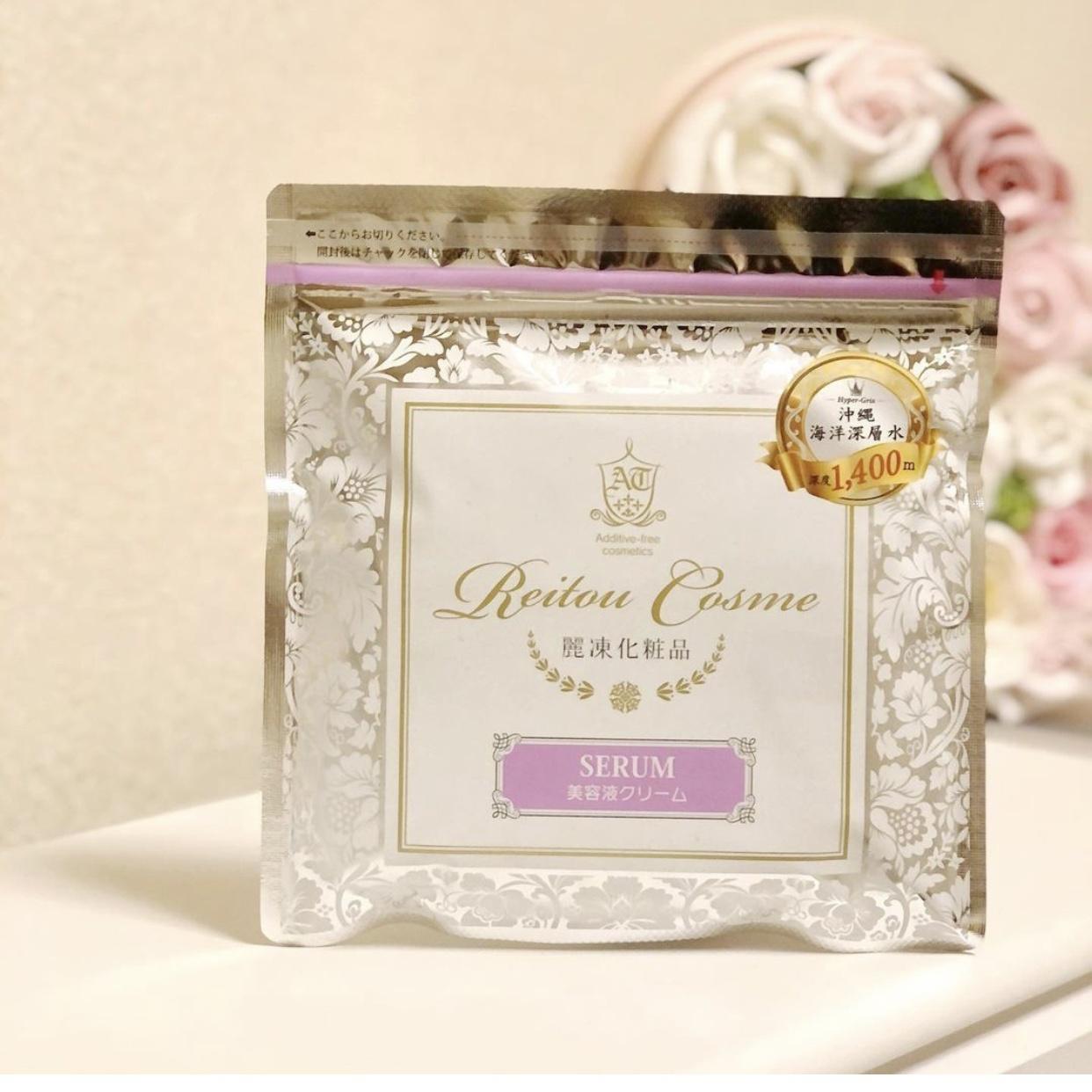 麗凍化粧品(Reitou Cosme) 美容液クリームを使ったlisa.1656さんのクチコミ画像1