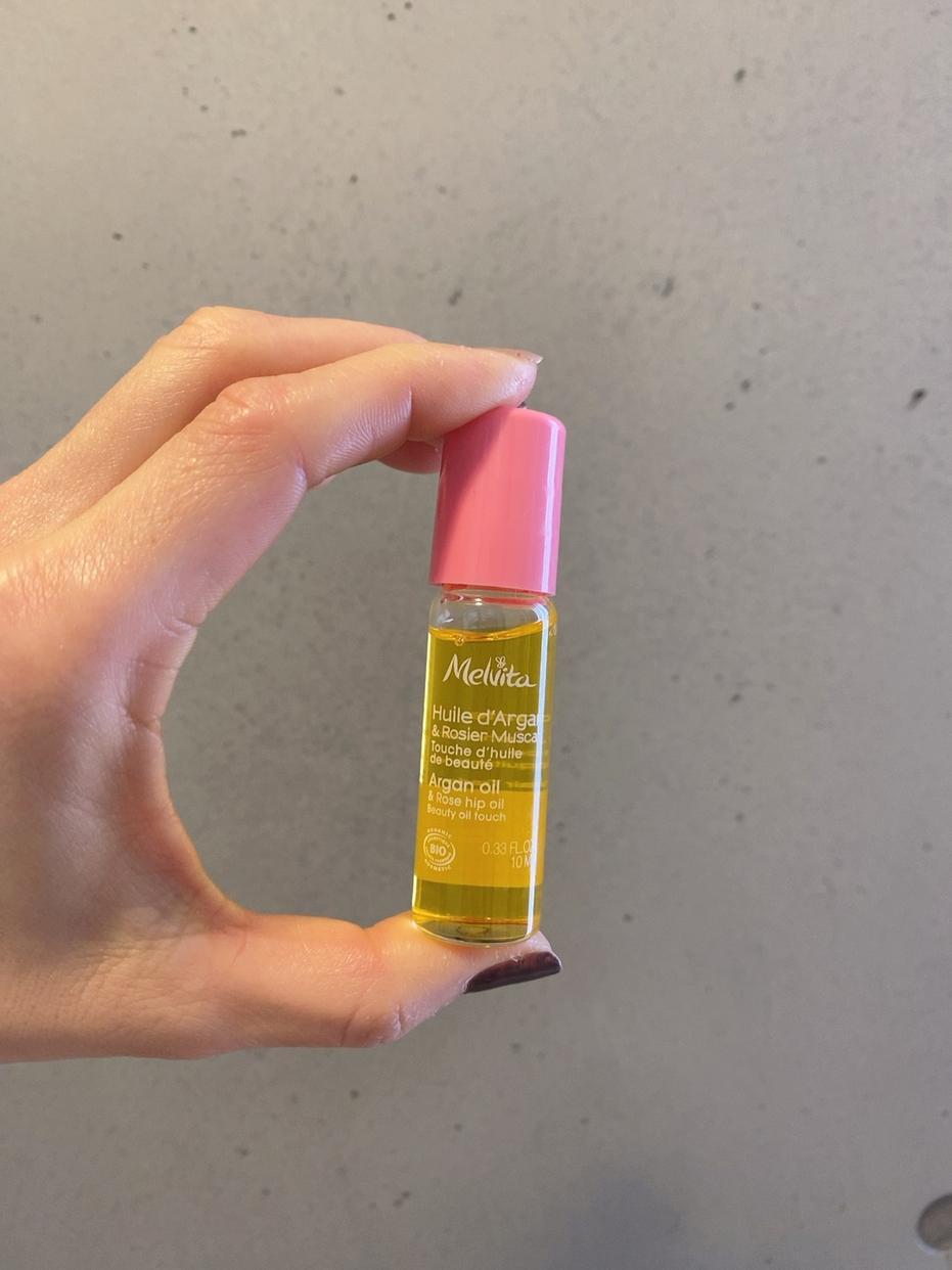 Melvita(メルヴィータ) ビオオイル ローズ&アルガン タッチオイルを使った熊澤 靖子さんのクチコミ画像