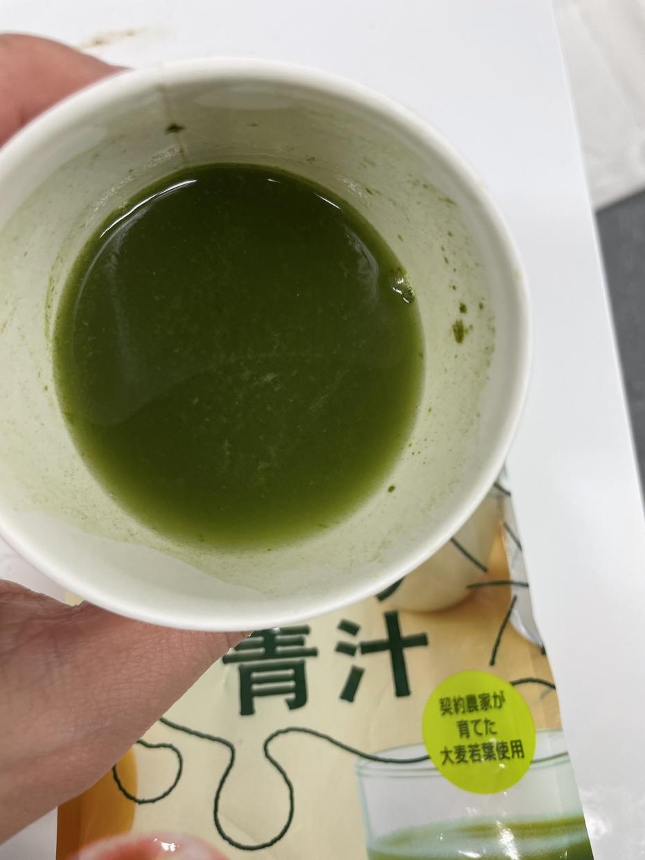 Yakult Health Foods(ヤクルトヘルスフーズ)朝のフルーツ青汁を使ったかわいげんきさんのクチコミ画像5