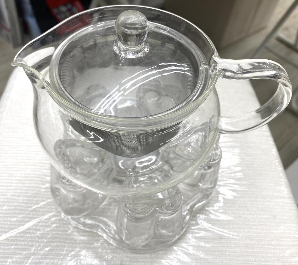 HARIO(ハリオ)茶茶急須 丸 CHJMN-45T クリアを使った凛さんのクチコミ画像1
