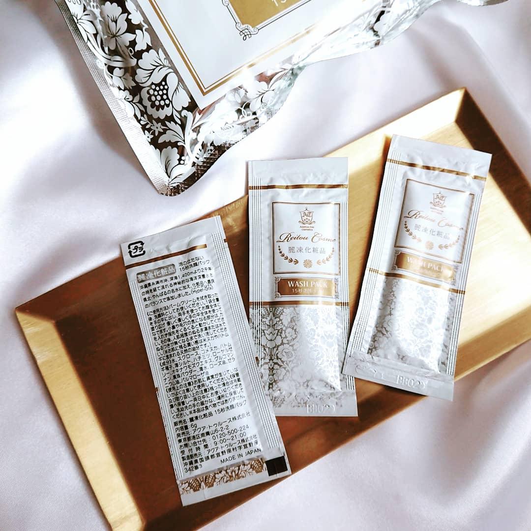 麗凍化粧品(Reitou Cosme) 15秒洗顔パックの良い点・メリットに関するむっちゃんさんの口コミ画像2
