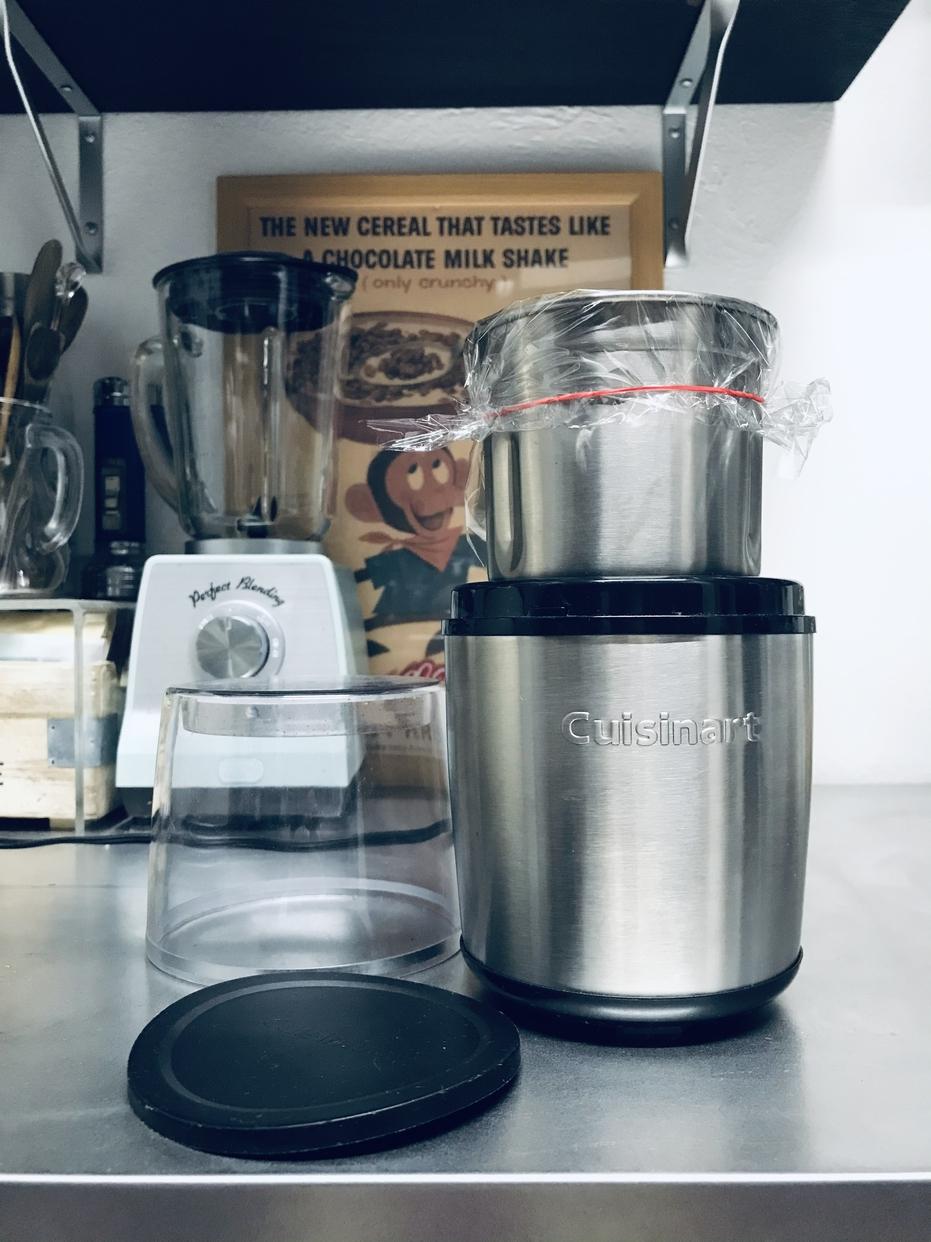 Cuisinar(クイジナート) 粉末ミルグラインダー シルバー SG-10BKJを使ったYoOさんのクチコミ画像