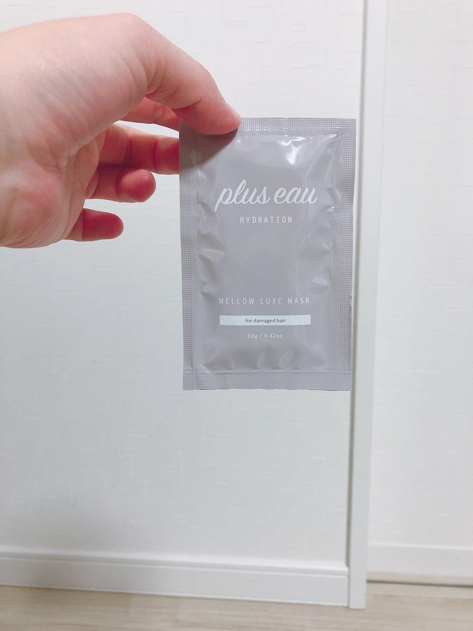 plus eau(プリュスオー) メロウリュクスマスクを使ったkaokao4144さんのクチコミ画像2
