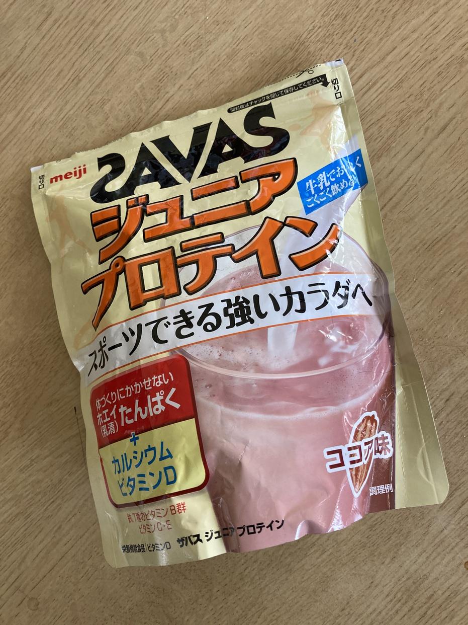 SAVAS(ザバス) ジュニア プロテインを使ったかおるさんのクチコミ画像1