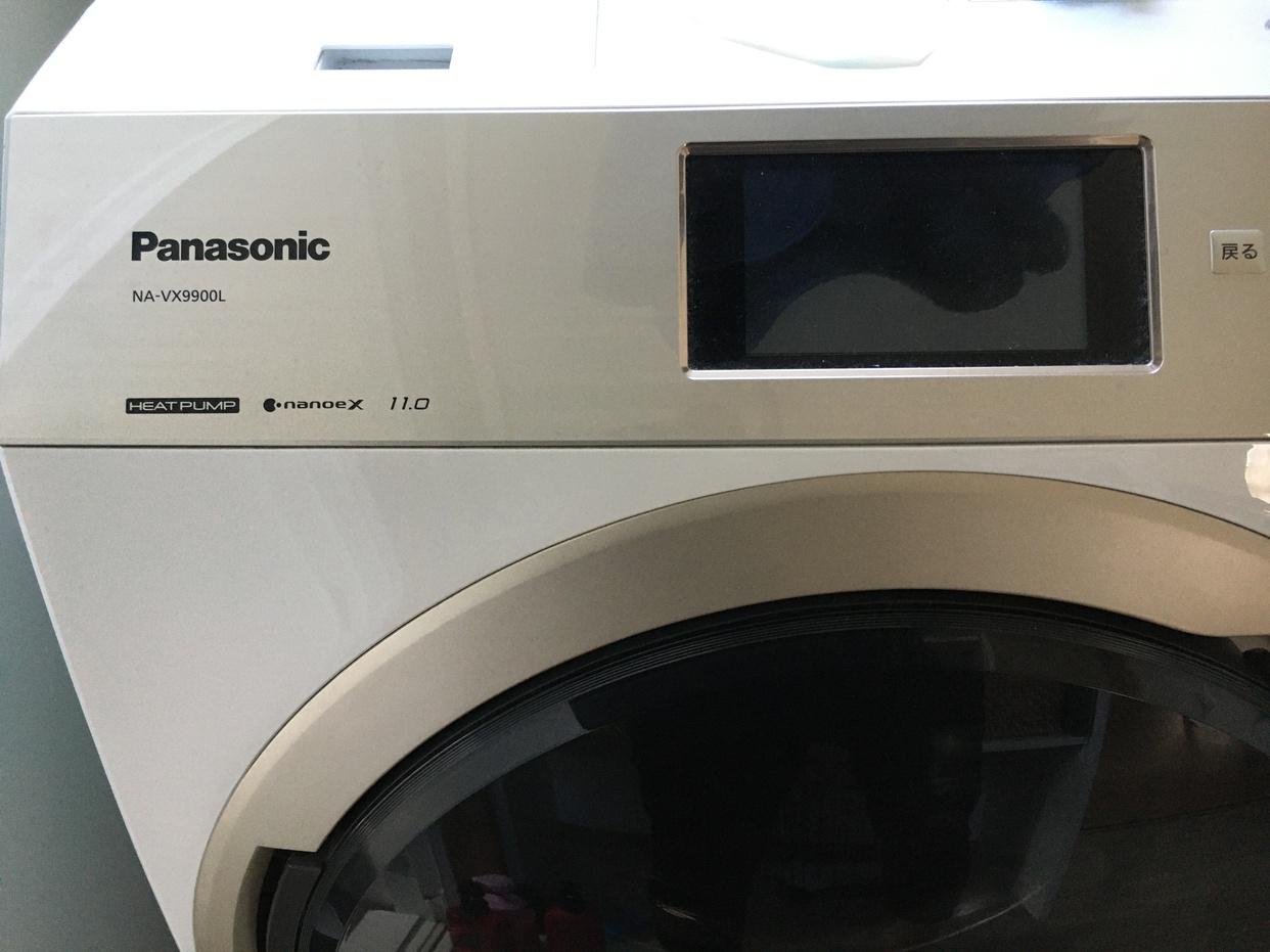 Panasonic(パナソニック)ななめドラム洗濯乾燥機 NA-VX9900を使ったあきあきさんのクチコミ画像1
