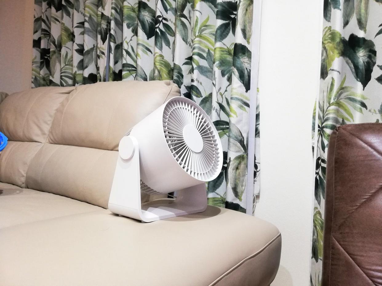 無印良品(MUJI)サーキュレーター(低騒音ファン・大風量タイプ) AT-CF26R-Wを使ったろまねさんのクチコミ画像1