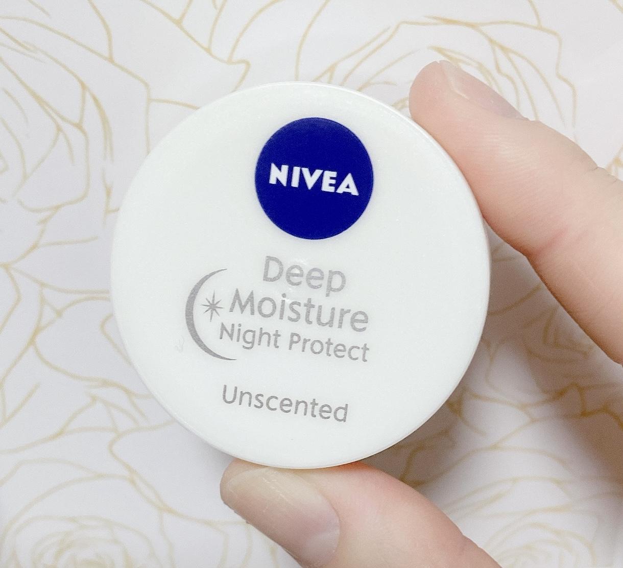 NIVEA(ニベア)ディープモイスチャー ナイトプロテクトを使った mocha*さんのクチコミ画像