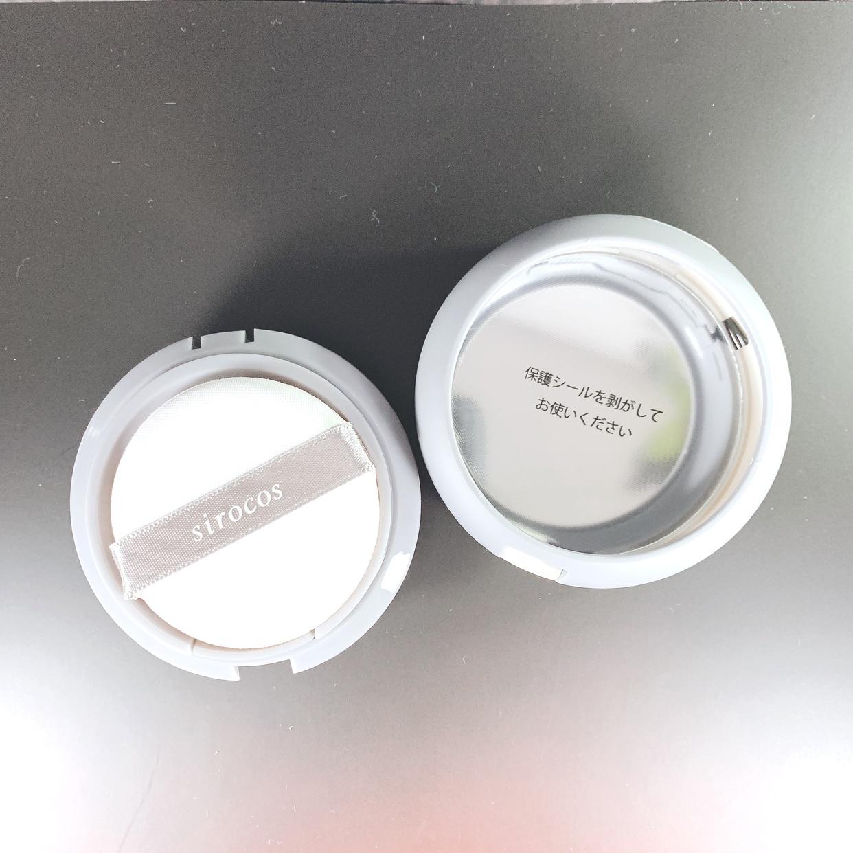sirocos(シロコス) カラーグローファンデーションを使ったkana_cafe_timeさんのクチコミ画像3