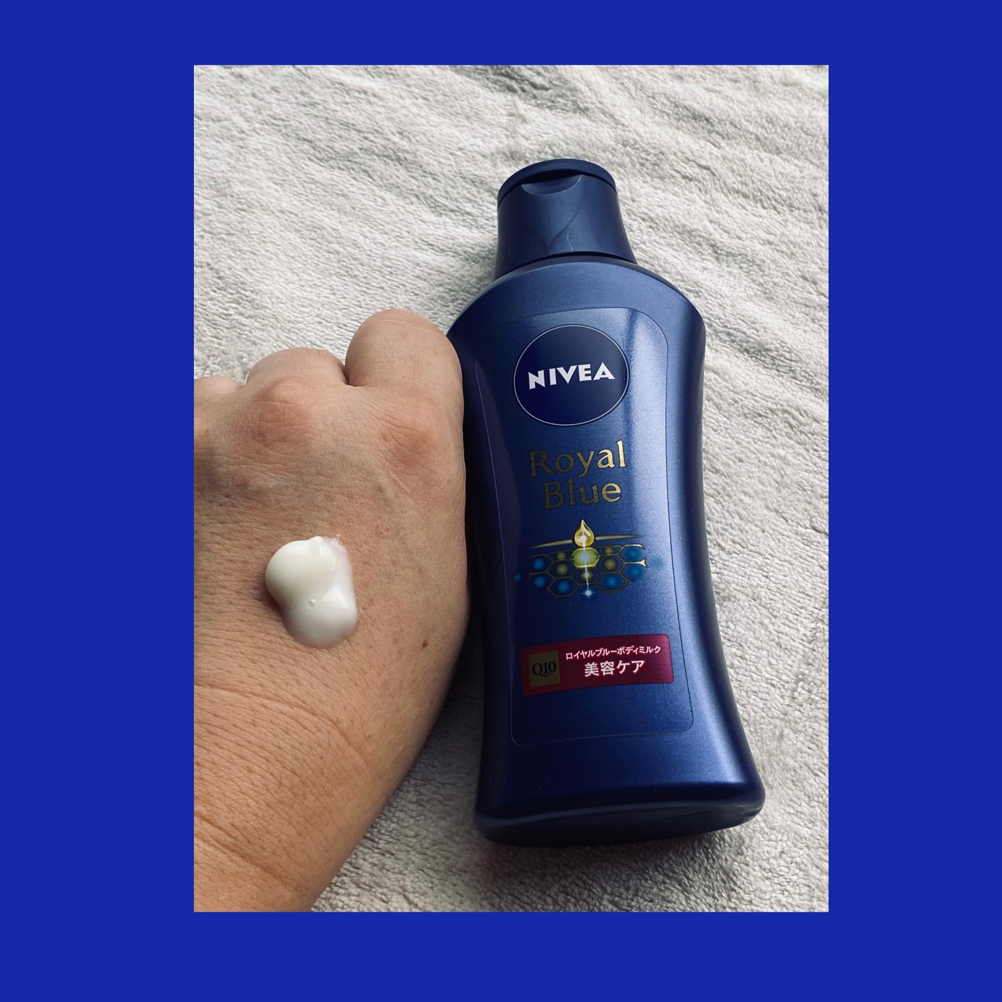 NIVEA(ニベア) ロイヤルブルーボディミルク 美容ケアの良い点・メリットに関するマイピコブーさんの口コミ画像2