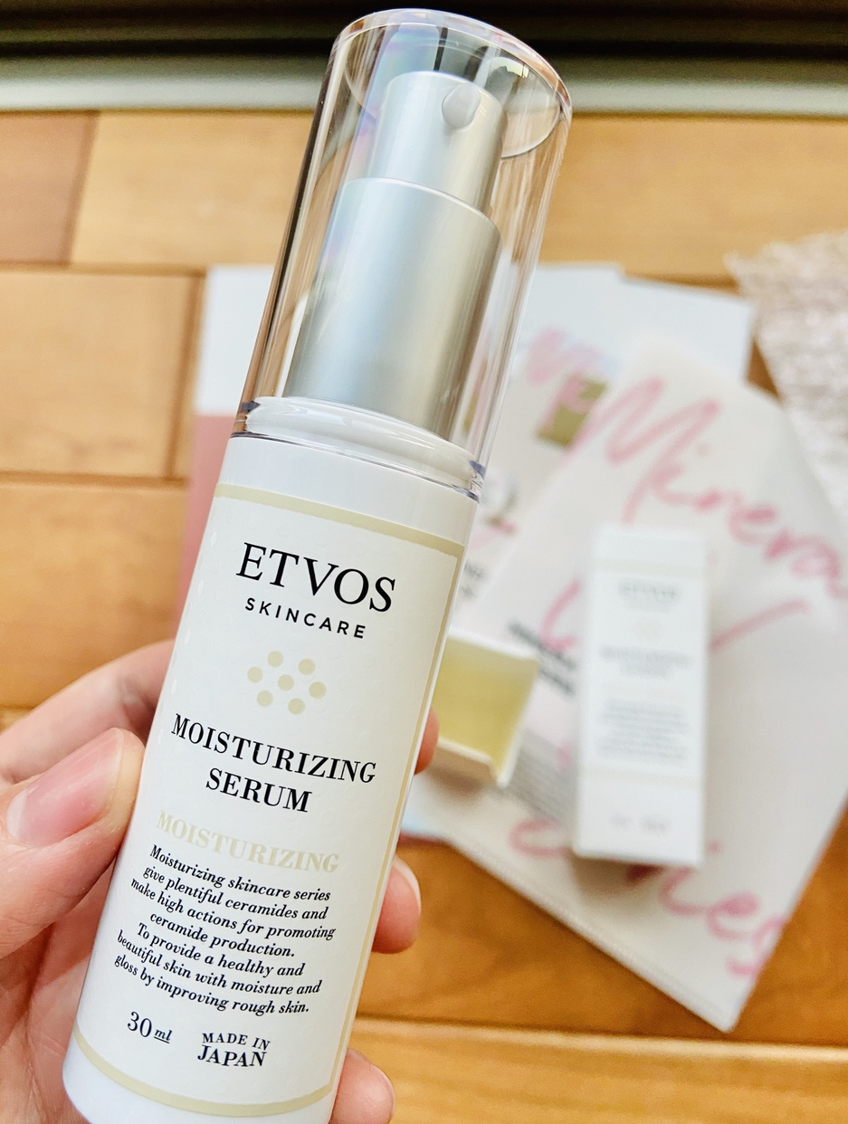 ETVOS(エトヴォス) モイスチャライジングセラムの良い点・メリットに関するフモきちさんの口コミ画像2