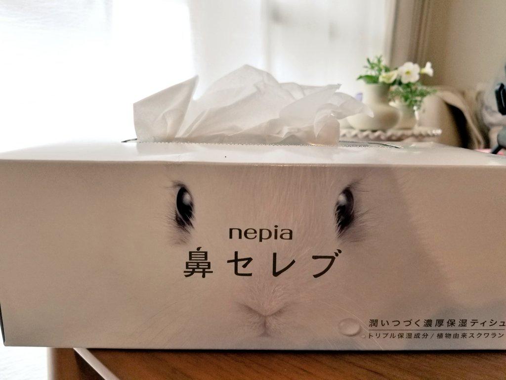 nepia(ネピア) 鼻セレブ ティシュを使ったあずあずさんのクチコミ画像