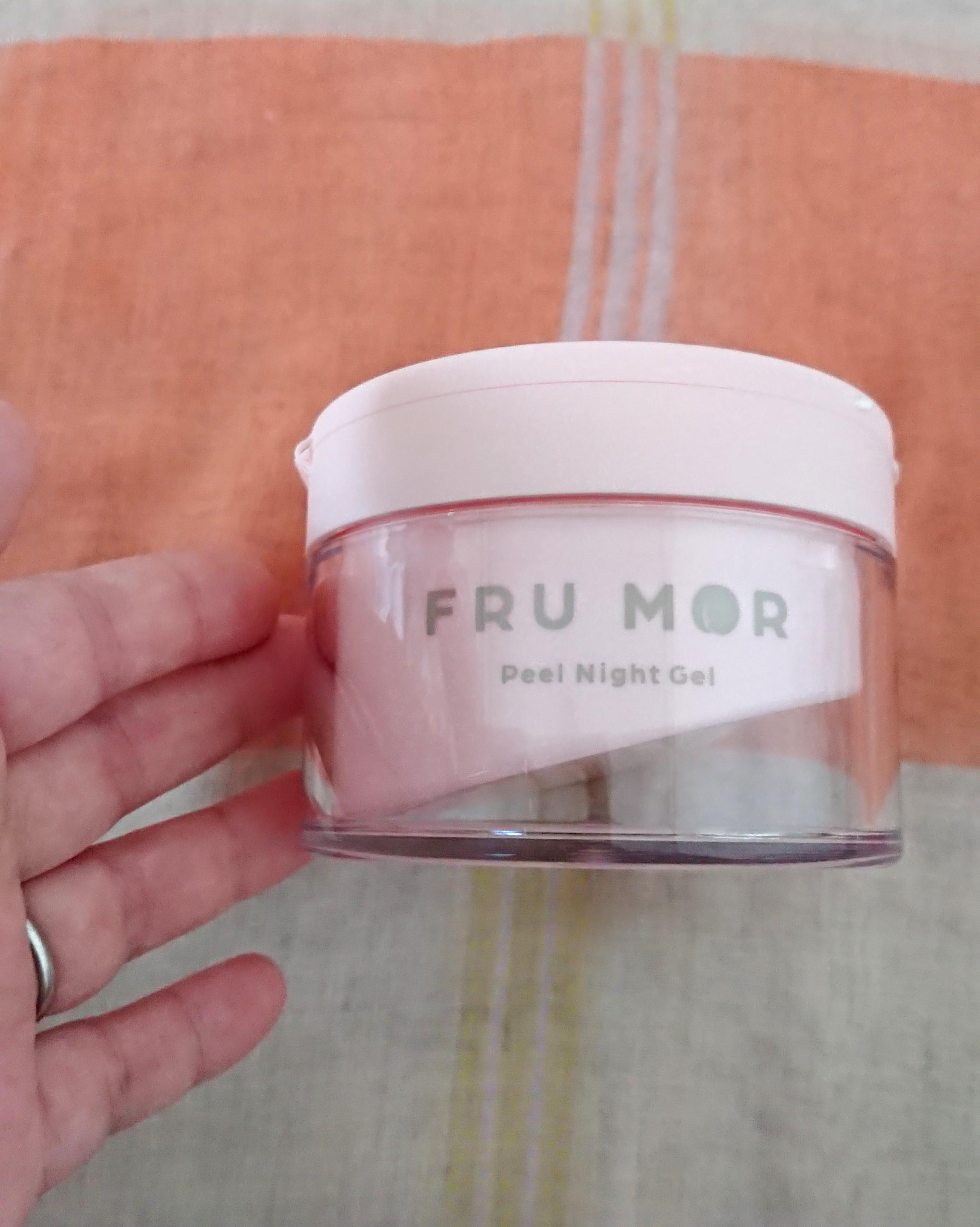 FRU MOR(フルモア) ピールナイトジェルの良い点・メリットに関する恵未さんの口コミ画像1