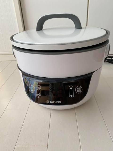 TATUNG(タートン) 無水調理のできるグリル鍋 フュージョンクッカー TSB3016EAを使った伊藤 欣也さんのクチコミ画像1